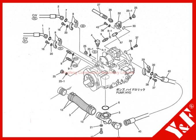 LS52S00015P1 Kobelco Sensor , SK200 SK210 SK330 Excavator