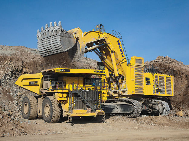 The Most Construction Machinery (One) The Biggest Hydraulic Excavator