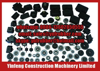 Excavator Diesel Engine Engine Rubber Mounts For Hitachi Kobelco Komatsu Caterpillar