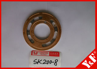 Kobelco Parts Valve Plate For Sk200 - 8 Travel Motor Hydraulic Motor Parts