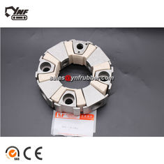 White Color Excavator 40H Rubber Coupling Standard Or Nonstandard
