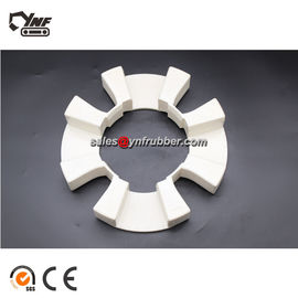 YNF 240H Excavator Shaft Coupling For Flexible Rubber Assembly White Color