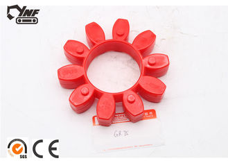 Elastic Excavator Engine Parts Jaw Flex Coupling Abrasion - Resistant