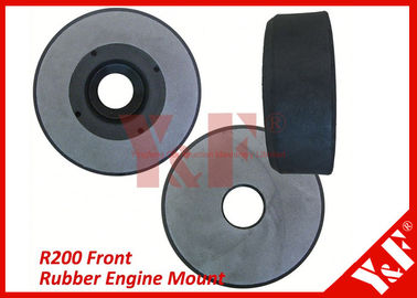 Shock Absorber Natural Rubber Engine Mounts For Hyundai Excavator R200 Front