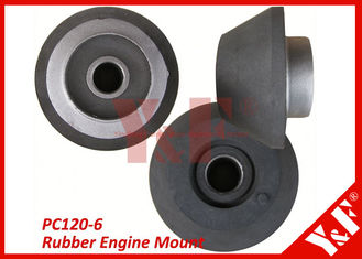Komatsu PC120-6 Excavator Parts 6D34 Rubber Engine Mounts Excavator Components