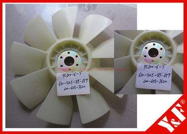 Construction Machinery 600-625-7620 Cooling Fan Blade for Komatsu Engine Excavator Accessories