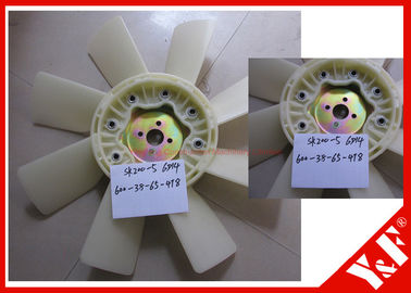 Plastic Cooling Fan Blade for Kobelco Excavator SK200-5 6D14 Engine ME039960 SK200-8 SK250-8 SK210-8 HD800