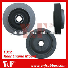 Professional Excavator Accessories Durable Rear Engine Cushion Rubber Engine Mounts For CAT