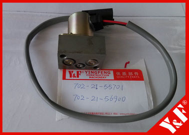 702-21-55701 Komatsu Excavator Parts PC200 - 7 Hydraulic Main Pump Solenoid Valve