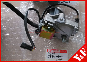 7834-40-2000 / 7834-40-2001 Komatsu Excavator Parts Throttle motor for PC200 - 6