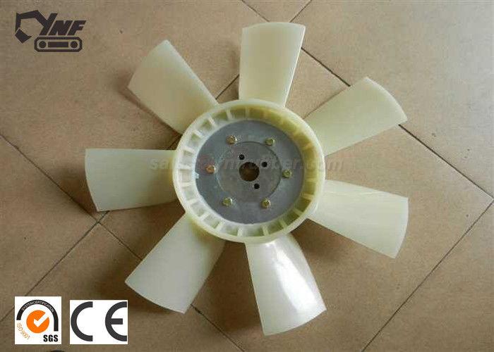 White Excavator Spare Parts , Generator Genset Engine Cooling Fan