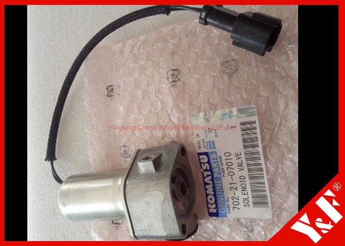 702-21-07010 Komatsu Excavator Parts Hydraulic Main Pump Solenoid