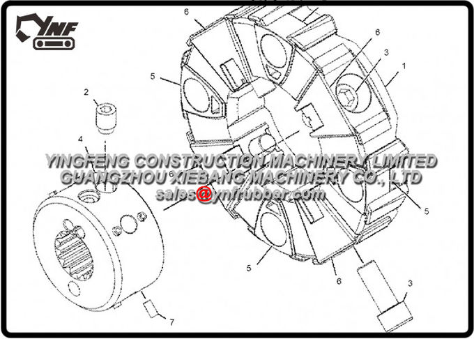 Excavator Caterpillar 330D 330D & 330D L EAH00001- UP